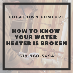 Guelph Water Heater - How to Know if Yours is Broken